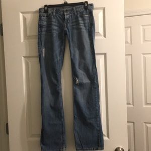 Guess Jeans Foxy Flare Size 24